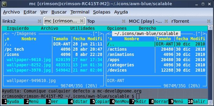 Programas Para Ejecutar Desde La Consola Crimson Linux